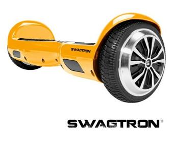 yellow swagtron hoverboard